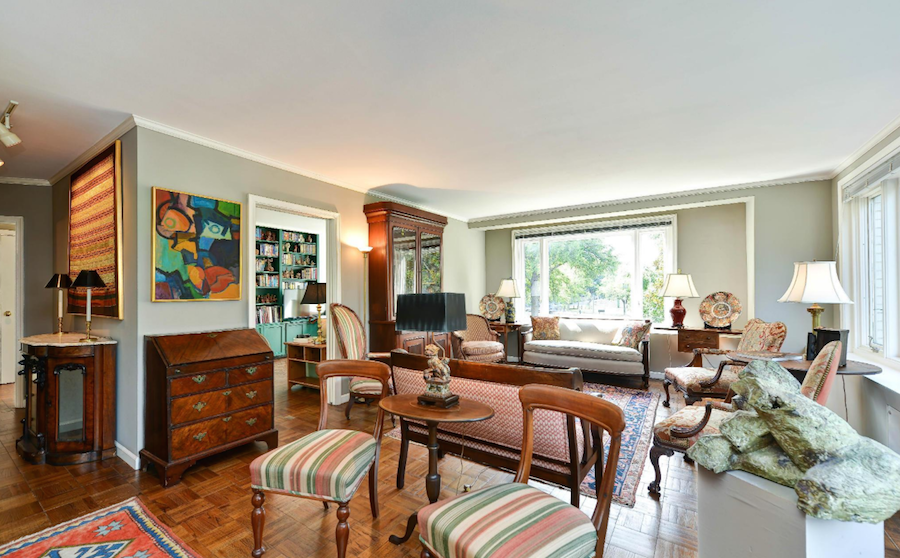 spacious co-op in Foggy Bottom