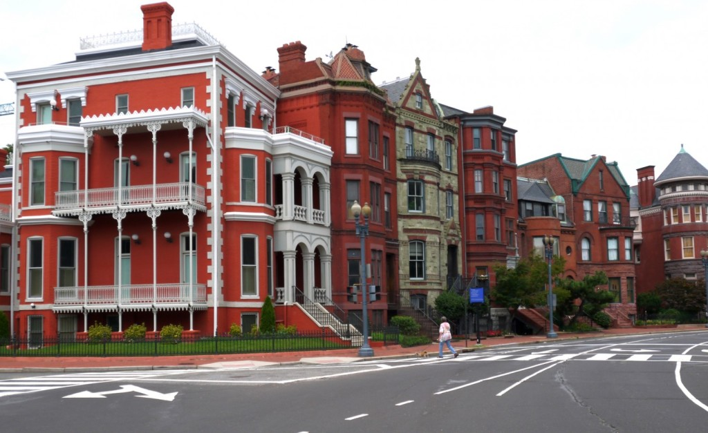 Victorian homes in Logan Circle