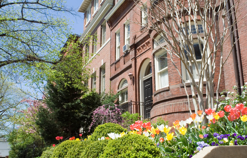 Victorian rowhouse in Dupont Circle